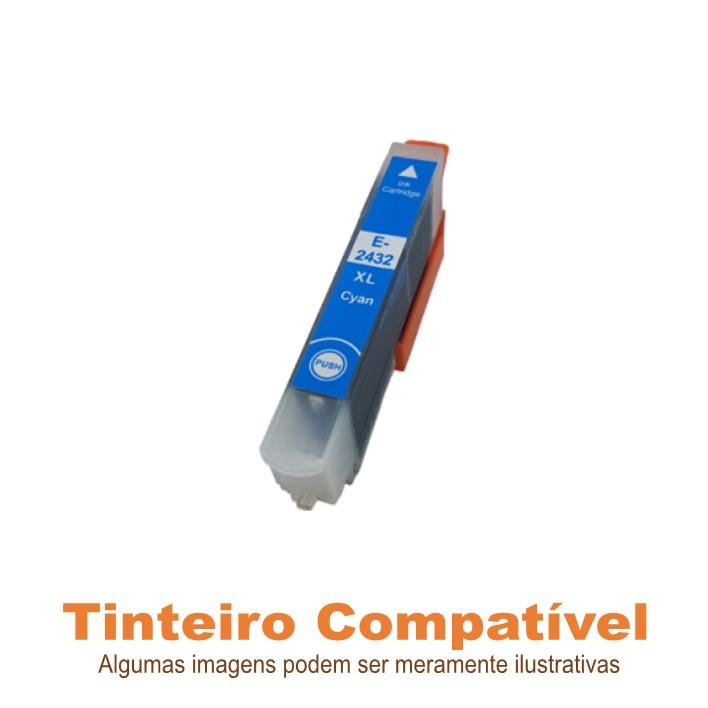 Tinteiro Compatível Epson T2432XL Cyan