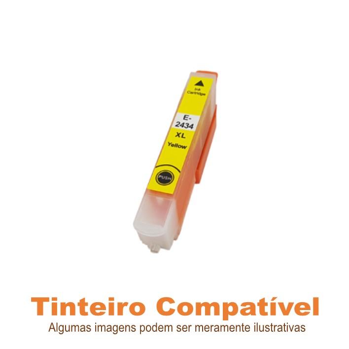 Tinteiro Compatível Epson T2434XL Yellow