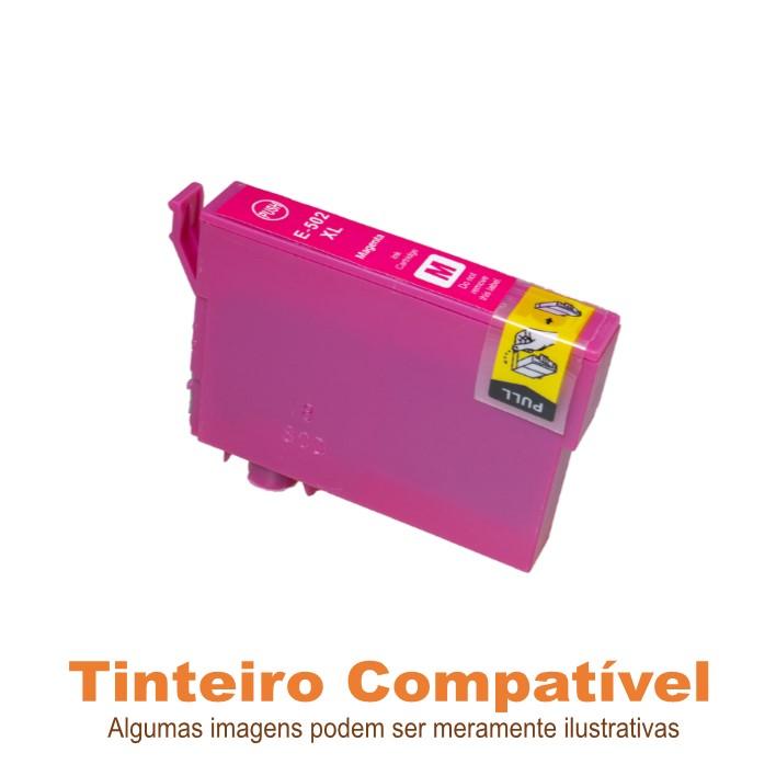 Tinteiro Compatível Epson T502XL Magenta