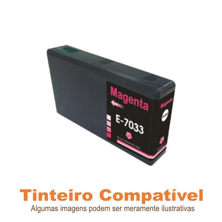 Epson 7033 Magenta 70L Compatível