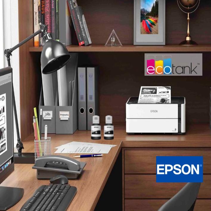 Apresentação da Impressora Epson EcoTank ET-M1140 Mono
