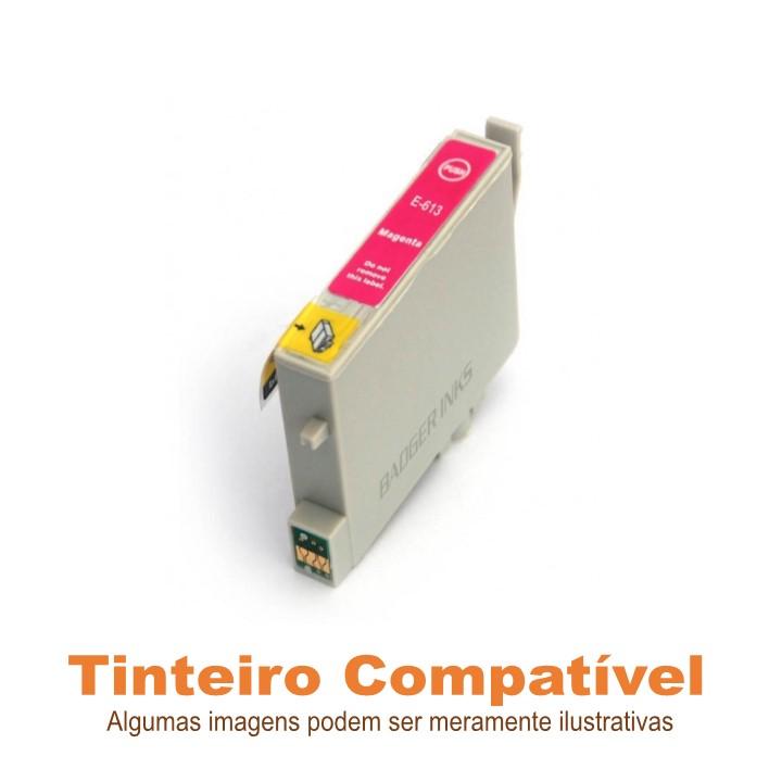 Tinteiro Compatível Epson T0613 Magenta