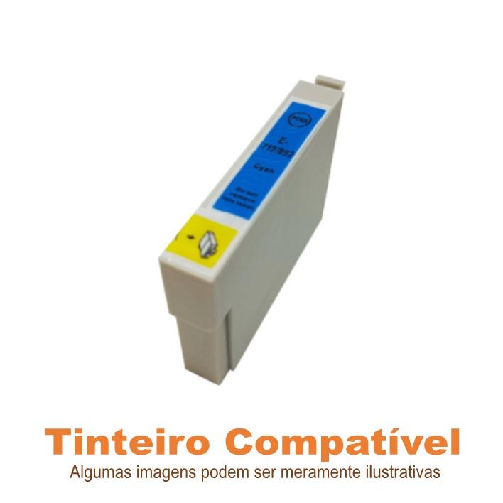 Tinteiro Epson 0712 Cyan Compatível