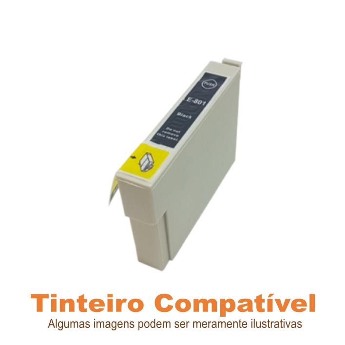 Epson T0801 ou T0791 Black Compatível
