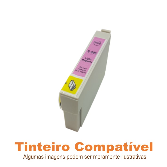Epson T0806 ou T0796 Light Magenta Compatível