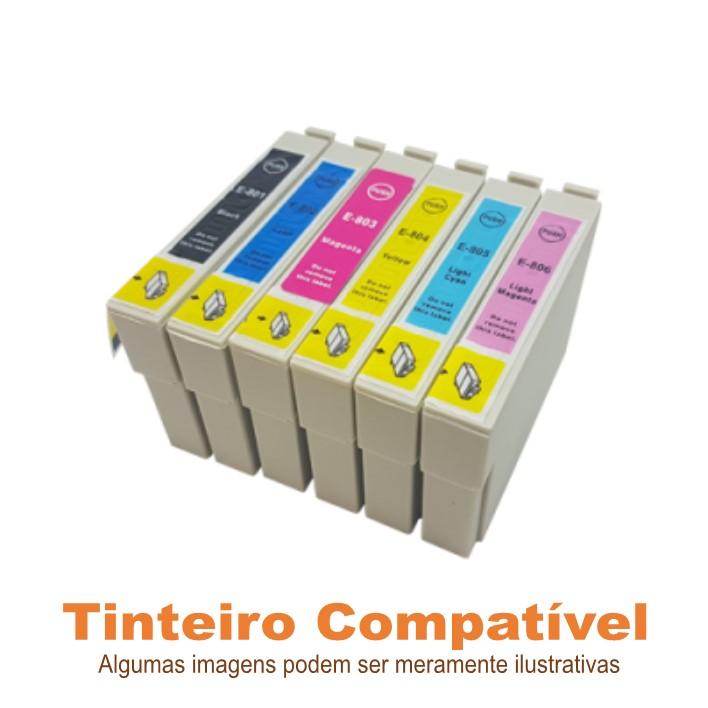 Pack tinteiros Epson T0807 Compatíveis