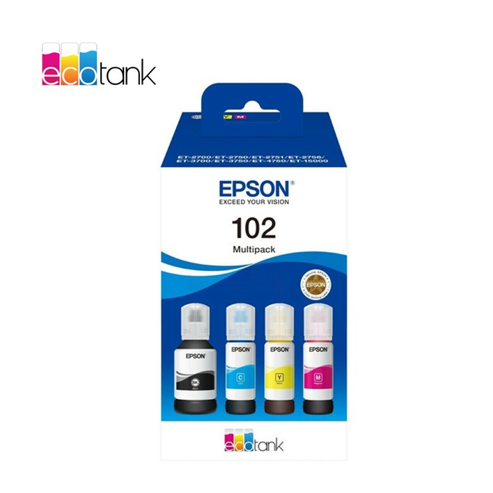 Pack Epson EcoTank 102 Ink Series