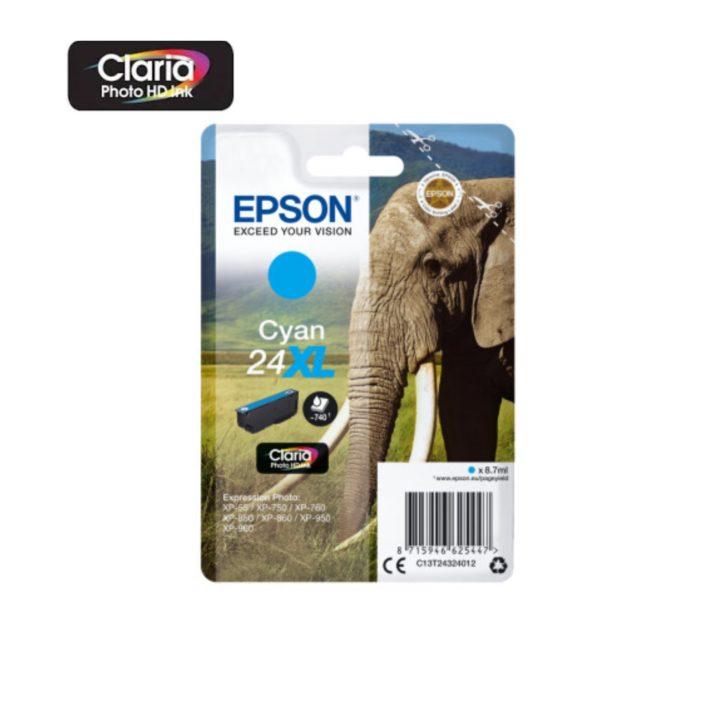 Tinteiro Epson 24xl cyan