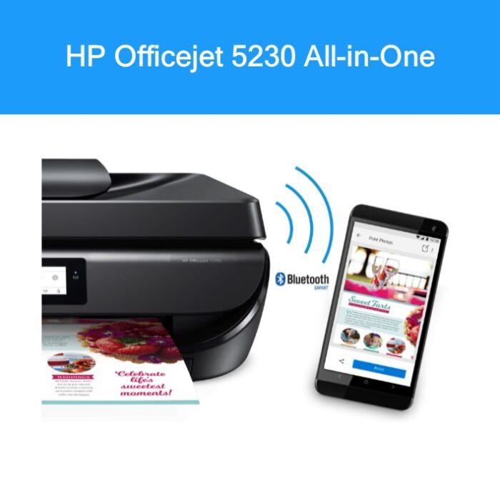 Multifunções HP Officejet 5230 3