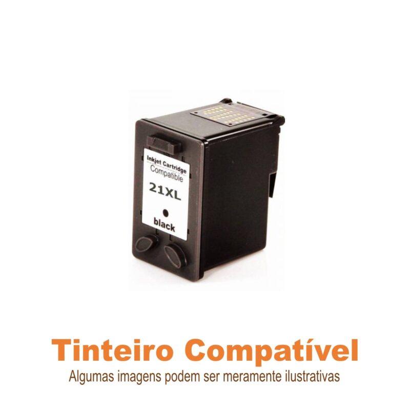 Tinteiro HP21xl Black Compatível