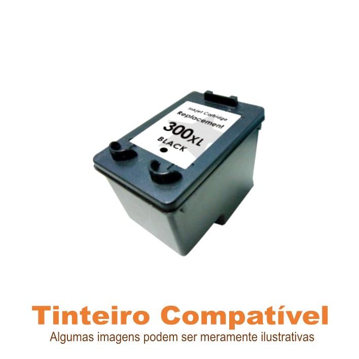 Tinteiro Compatível HP300XL Black