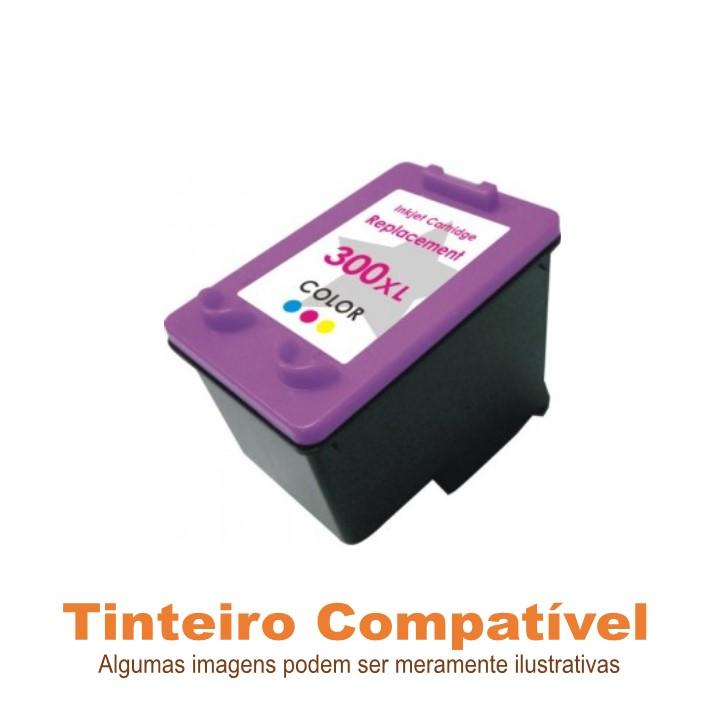 Tinteiro Compatível HP300XL Color