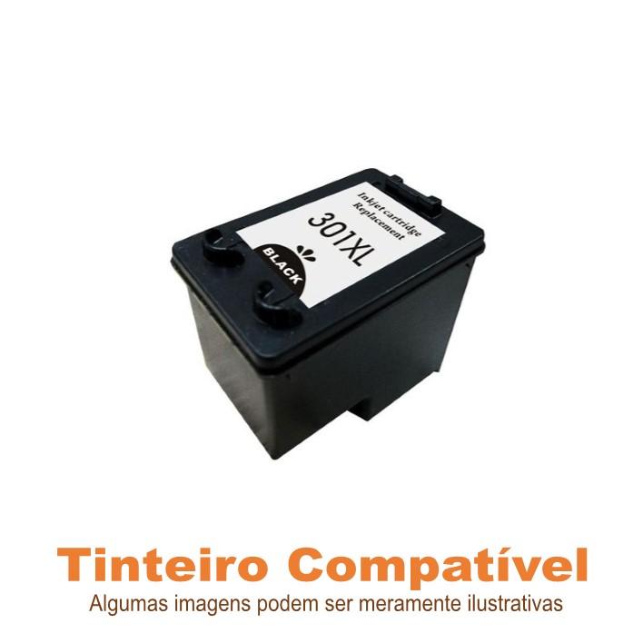 Tinteiro Compatível HP301XL Black