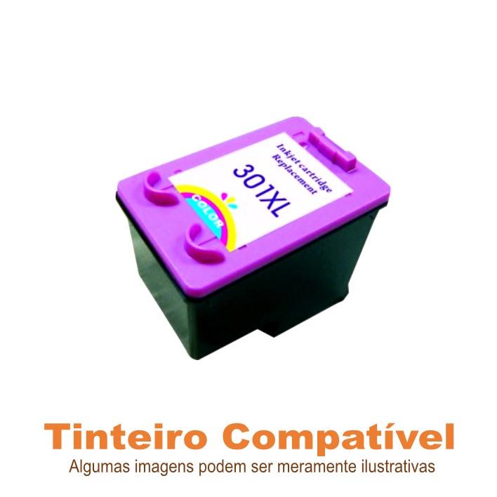 Tinteiro Compatível HP301XL Color