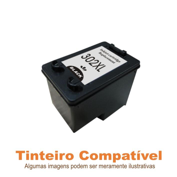 Tinteiro Compatível HP302XL Black