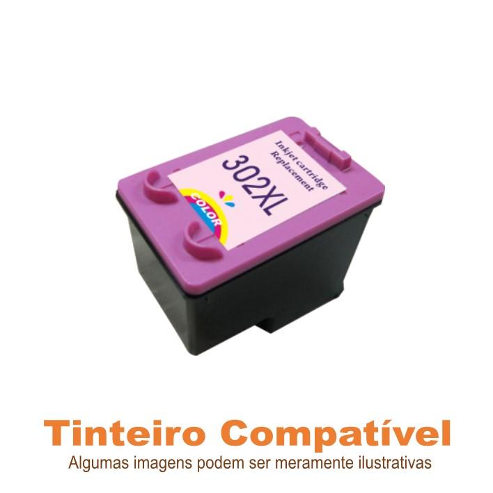 Tinteiro Compatível HP302XL Color