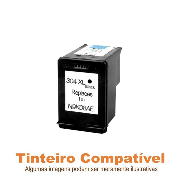 Tinteiro Compatível HP304XL Preto