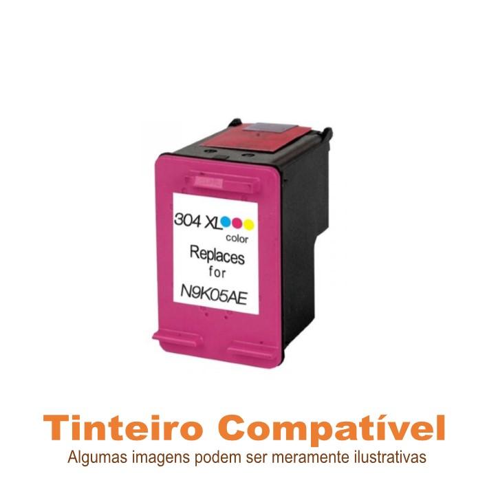 Tinteiro Compatível HP304XL Tricolor