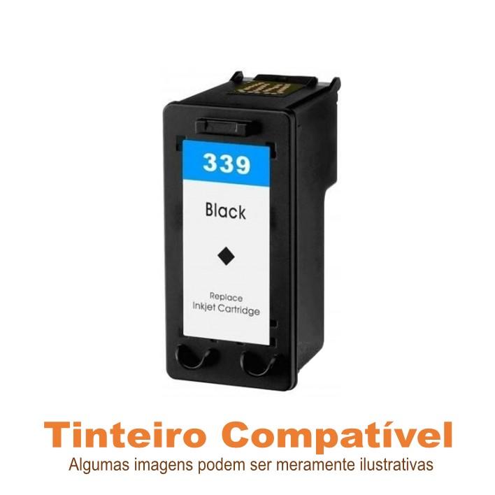 Tinteiro HP339 Black Compatível Texnatura