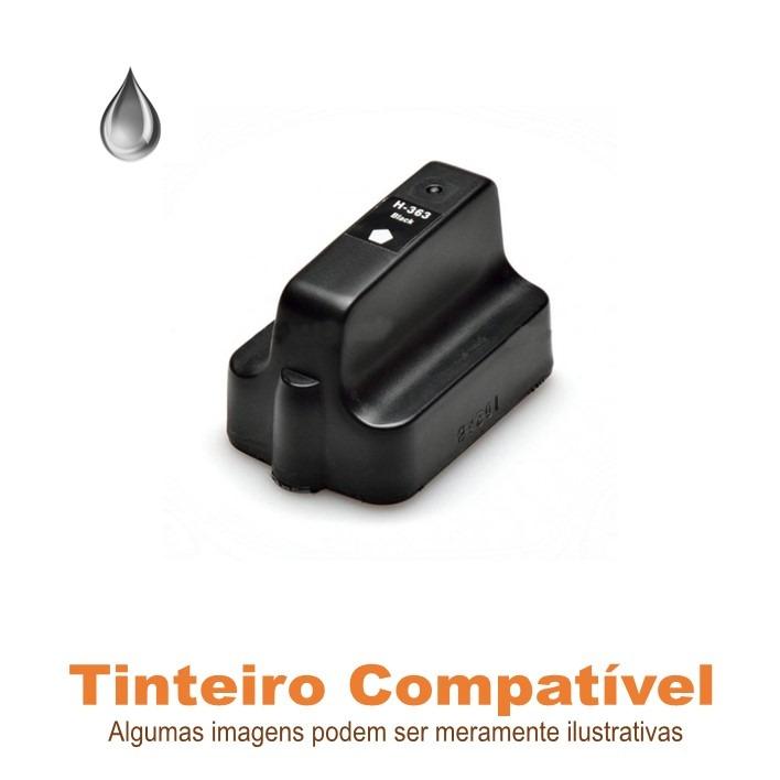 Tinteiro HP 363BKXL compatível