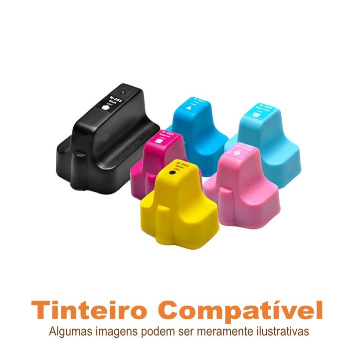 Pack HP 363 compatível
