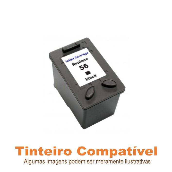 Tinteiro HP56 Black Compatível