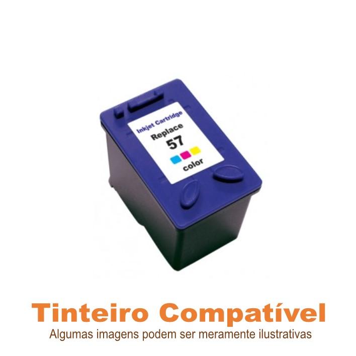 Tinteiro HP57 Tricolor Compatível