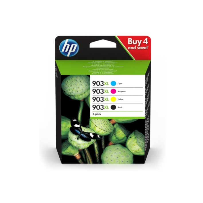 Pack 4 Colors HP903XL