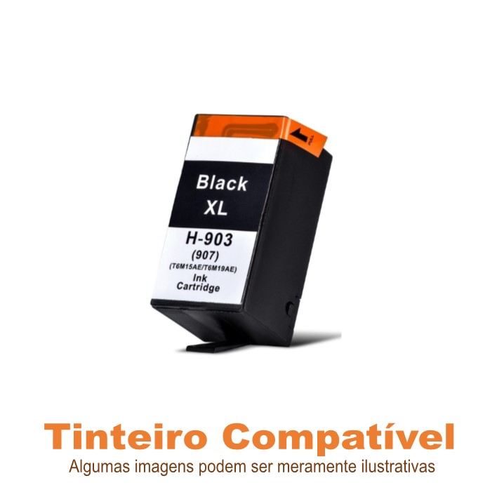 Tinteiro Compatível HP903XL HP907XL Black
