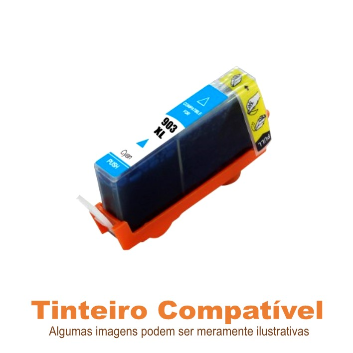 Tinteiro Compatível HP903XL HP907XL Cyan