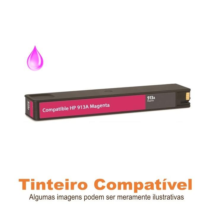 HP 913A Magenta F6T78AE Compatível