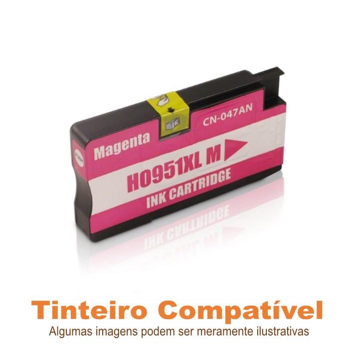 Tinteiro HP 951xl Magenta Compatível