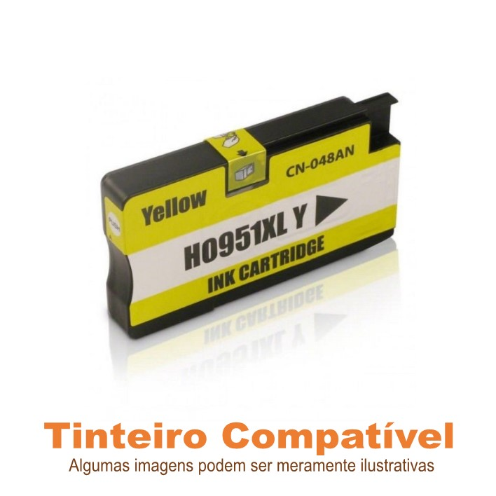 Tinteiro HP 951xl Yellow Compatível