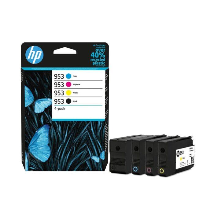 HP953 pack 4 Colors - 6ZC69AE