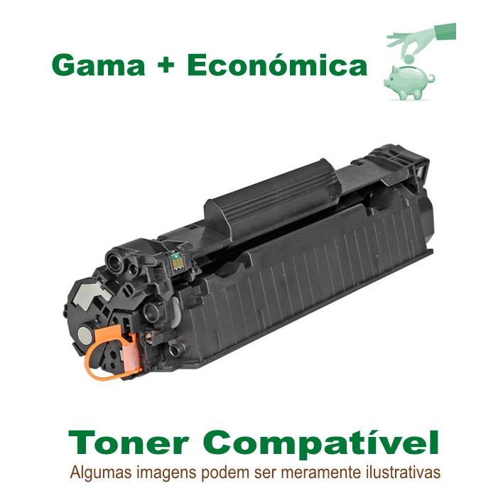 Toner Compatível HPCF283X Black Eco