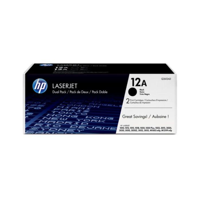 Toner HP Q2612A Black
