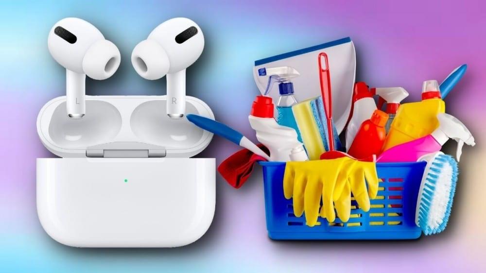 Como limpar os AirPods e EarPods