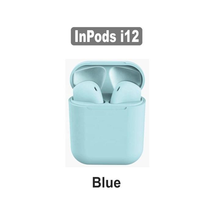AirPods i12 TWS Blue - Compatível