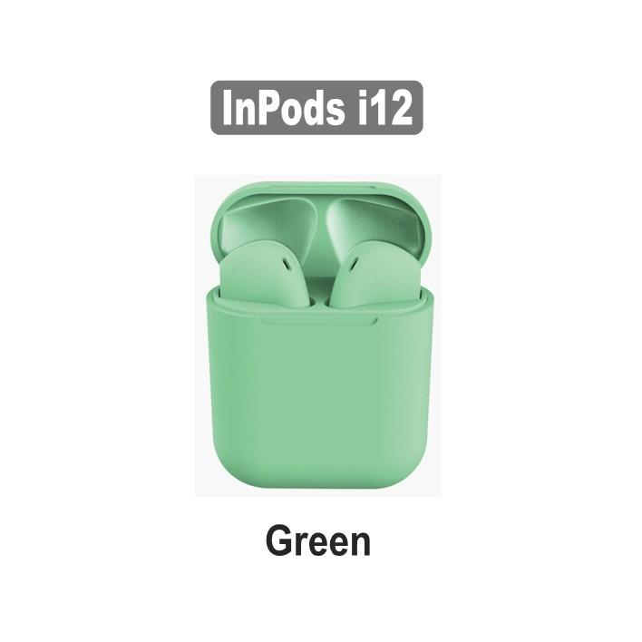 AirPods i12 TWS Green - Compatível