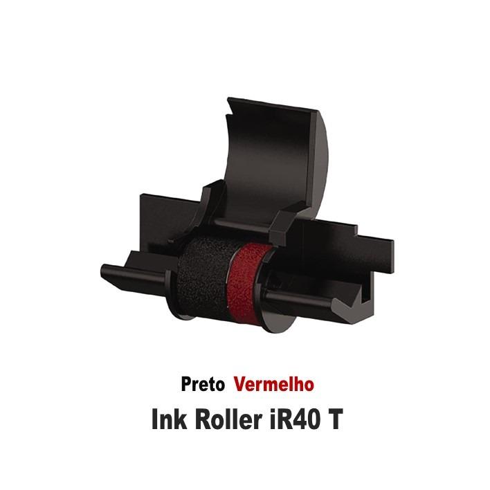 Ink Rollers iR40T Black / Red