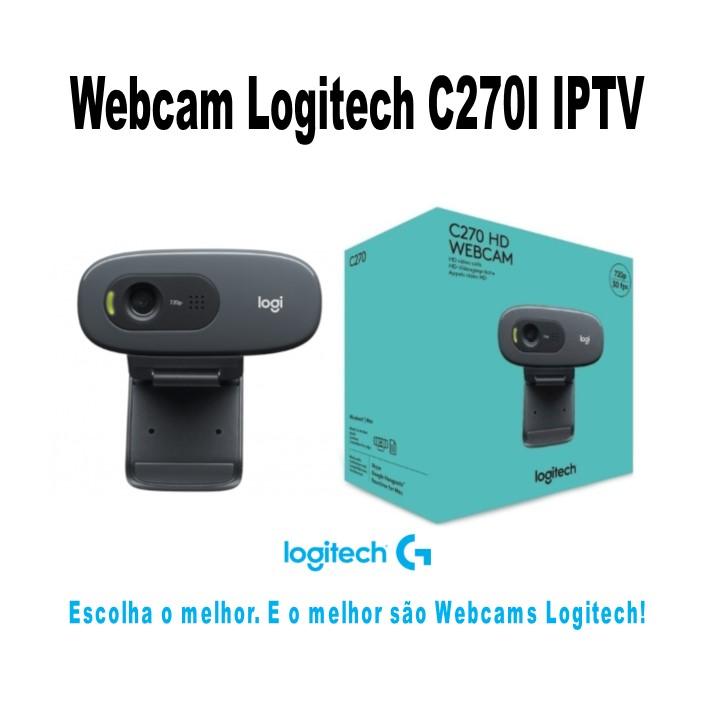 Logitech Webcam C270I imagem 1