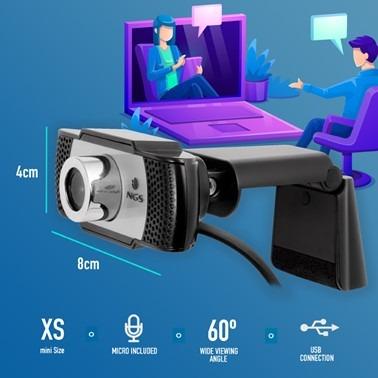 NGS Webcam Xpresscam HD 720P