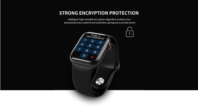 SmartWatch HW12 Strong Encryption Protection